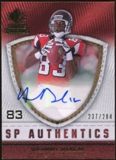 2008 Upper Deck SP Rookie Threads SP Authentics #SPHD Harry Douglas Autograph /284