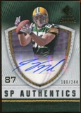 2008 Upper Deck SP Rookie Threads SP Authentics #SPJN Jordy Nelson Autograph /244
