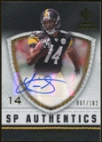 2008 Upper Deck SP Rookie Threads SP Authentics #SPLS Limas Sweed Autograph /182