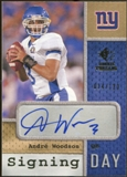 2008 Upper Deck SP Rookie Threads Signing Day #SDAW Andre Woodson Autograph /120