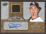 2009 Upper Deck Ballpark Collection Jersey Autographs #AA Aaron Rowand Autograph