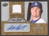 2009 Upper Deck Ballpark Collection Jersey Autographs #AL Andy LaRoche Autograph