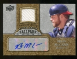 2009 Upper Deck Ballpark Collection Jersey Autographs #BM Brian McCann Autograph