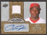 2009 Upper Deck Ballpark Collection Jersey Autographs #CF Chone Figgins Autograph