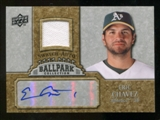 2009 Upper Deck Ballpark Collection Jersey Autographs #EC Eric Chavez Autograph