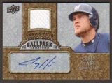 2009 Upper Deck Ballpark Collection Jersey Autographs #HA Corey Hart Autograph