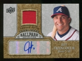 2009 Upper Deck Ballpark Collection Jersey Autographs #JF Jeff Francoeur Autograph