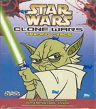 Star Wars Clone Wars 36 Pack Box (2004 Topps)