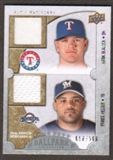 2009 Upper Deck Ballpark Collection #103 Hank Blalock Prince Fielder /500
