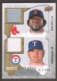 2009 Upper Deck Ballpark Collection #112 Hank Blalock David Ortiz /500