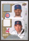 2009 Upper Deck Ballpark Collection #123 Travis Hafner Derrek Lee /500