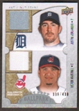 2009 Upper Deck Ballpark Collection #126 Justin Verlander Victor Martinez /400