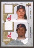 2009 Upper Deck Ballpark Collection #140 Grady Sizemore Fausto Carmona /500