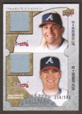 2009 Upper Deck Ballpark Collection #168 Jeff Francoeur Kelly Johnson /500