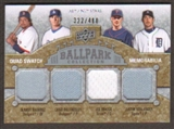 2009 Upper Deck Ballpark Collection #207 Justin Verlander Joe Mauer Chad Billingsley Manny Ramirez /400