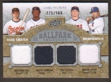 2009 Upper Deck Ballpark Collection #225 Michael Young Matt Garza Nick Markakis Fausto Carmona /500