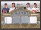 2009 Upper Deck Ballpark Collection #229 Joe Mauer Grady Sizemore Chien-Ming Wang Nick Markakis /400