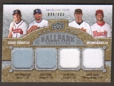 2009 Upper Deck Ballpark Collection #231 Chris B. Young Matt Kemp Adam Jones Jeff Francoeur /400