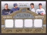 2009 Upper Deck Ballpark Collection #239 Ryan Braun Josh Hamilton Hiroki Kuroda Chien-Ming Wang /400