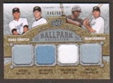2009 Upper Deck Ballpark Collection #245 Troy Glaus Alex Rios Carlos Delgado Roy Halladay /500
