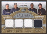 2009 Upper Deck Ballpark Collection #254 Bill Hall Trevor Hoffman Ryan Braun Prince Fielder /400