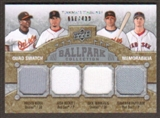2009 Upper Deck Ballpark Collection #266 Josh Beckett Nick Markakis Melvin Mora Jonathan Papelbon /400