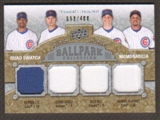2009 Upper Deck Ballpark Collection #268 Rich Hill Kerry Wood Aramis Ramirez Derrek Lee /400