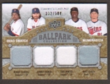2009 Upper Deck Ballpark Collection #271 Torii Hunter Matt Garza Manny Ramirez Johnny Damon /500