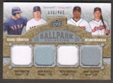 2009 Upper Deck Ballpark Collection #277 Josh Hamilton Hank Blalock Victor Martinez Grady Sizemore /400