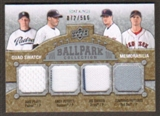 2009 Upper Deck Ballpark Collection #287 Jonathan Papelbon Andy Pettitte Jake Peavy Joe Nathan /500
