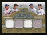 2009 Upper Deck Ballpark Collection #264 Robinson Cano Jorge Posada Yogi Berra Derek Jeter /400