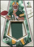 2008 Upper Deck SP Rookie Threads Rookie Super Swatch Gold Patch 25 #RSSBB Brian Brohm /25