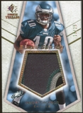 2008 Upper Deck SP Rookie Threads Rookie Super Swatch Gold Patch #RSSDJ DeSean Jackson /25