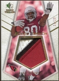 2008 Upper Deck SP Rookie Threads Rookie Super Swatch Gold Patch 25 #RSSED Early Doucet /25