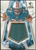 2008 Upper Deck SP Rookie Threads Rookie Super Swatch Gold Patch 25 #RSSJL Jake Long /25