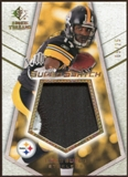 2008 Upper Deck SP Rookie Threads Rookie Super Swatch Gold Patch 25 #RSSLS Limas Sweed /25