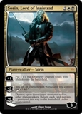 Magic the Gathering Duel Deck Single Sorin, Lord of Innistrad Foil