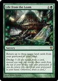 Magic the Gathering Duel Deck Single Life from the Loam - NEAR MINT (NM)