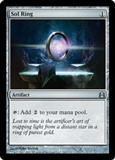 Magic the Gathering Commander Single Sol Ring UNPLAYED (NM/MT)