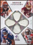 2008 Upper Deck SP Rookie Threads Rookie Threads Foursome 75 #JCRK Caldwell/Royal/Kelly/Jackson /75