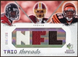 2008 Upper Deck SP Rookie Threads Trio Threads #DTS Harry Douglas Devin Thomas Jerome Simpson /100