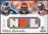 2008 Upper Deck SP Rookie Threads Trio Threads 100 #JJS DeSean Jackson/Jerome Simpson/Dexter Jackson /100