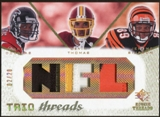 2008 Upper Deck SP Rookie Threads Trio Threads Patch #TTDTS Harry Douglas Devin Thomas Jerome Simpson 2/20