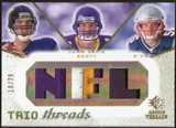 2008 Upper Deck SP Rookie Threads Trio Threads Patch 20 #TTFBO Joe Flacco/John David Booty/Kevin O'Connell /20