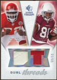 2008 Upper Deck SP Rookie Threads Dual Threads/50 #DTDD Glenn Dorsey Early Doucet /50