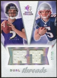 2008 Upper Deck SP Rookie Threads Dual Threads #DTFO Joe Flacco Kevin O'Connell /99