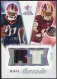 2008 Upper Deck SP Rookie Threads Dual Threads/99 #DTHK James Hardy Malcolm Kelly /99
