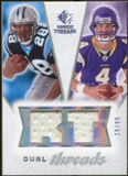 2008 Upper Deck SP Rookie Threads Dual Threads 99 #DTJJ Jonathan Stewart/John David Booty /99