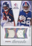2008 Upper Deck SP Rookie Threads Dual Threads/160 #DTMR Eddie Royal Mario Manningham /160