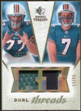 2008 Upper Deck SP Rookie Threads Dual Threads Patch/35 #DTCM Jake Long Chad Henne /35